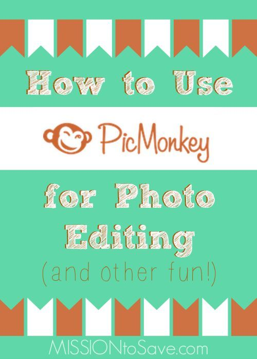 Learn how to Use PicMonkey for Photo Editing and Other Fun! Make your own Back to School signs and gifts!