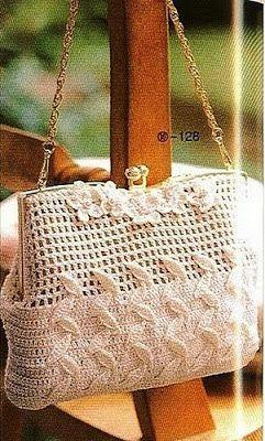 c5d156855 Moda y Ropa de Mujer: Hermosas carteras y bolsos a crochet para mujeres  modernas