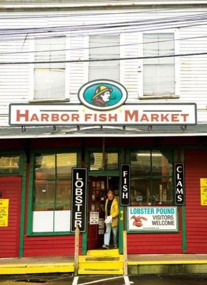 106 best eat drink maine images on pinterest dish for Harbor fish market portland maine