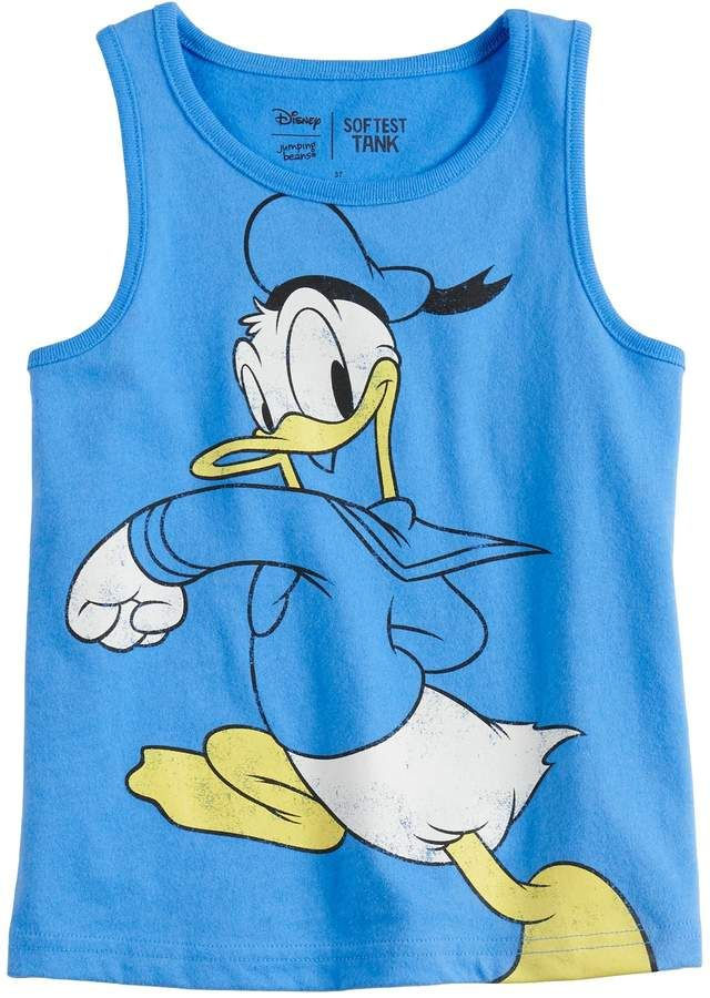 dc458cdd Disneyjumping Beans Disney's Donald Duck Toddler Boy Softest Tank Top by  Jumping Beans