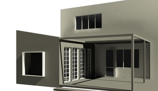 Orangeri stue - Arkitektur | Innovation | Digital Fabrikation - eentileen