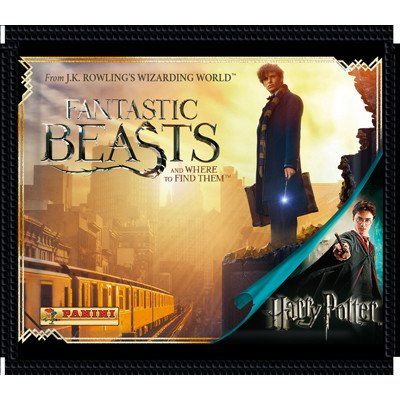 Fantastic Beasts and Where to Find Them - Stickerzakje  Panini  Fantastic Beasts www.detoyboys.nl