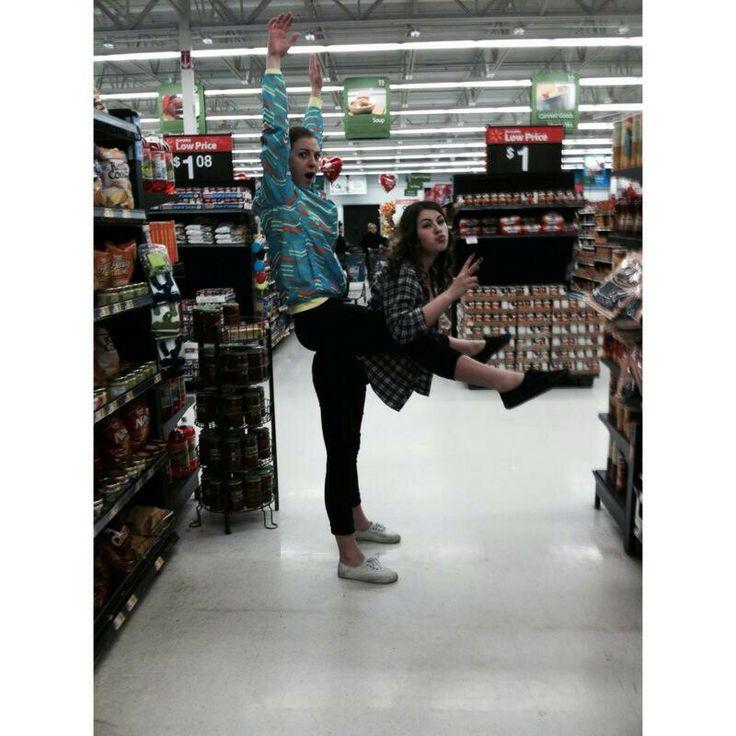 People at Walmart...