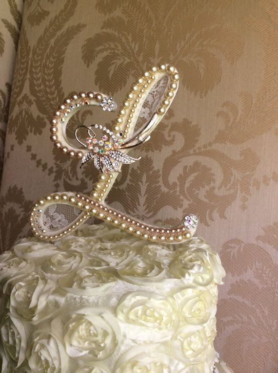 monogram wedding cake toppers michaels 17 best images about буквы on brooches 17526