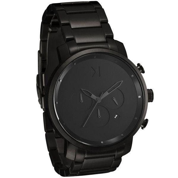 Chrono All Black | MVMT Watches - designer watches mens, mens watches online store, fine mens watches
