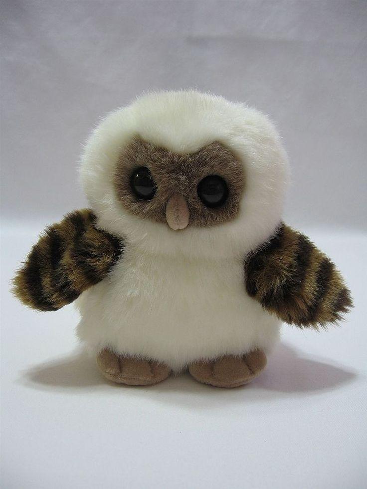 Details About Snowy Owl Aurora Plush Stuffed Animal Toy