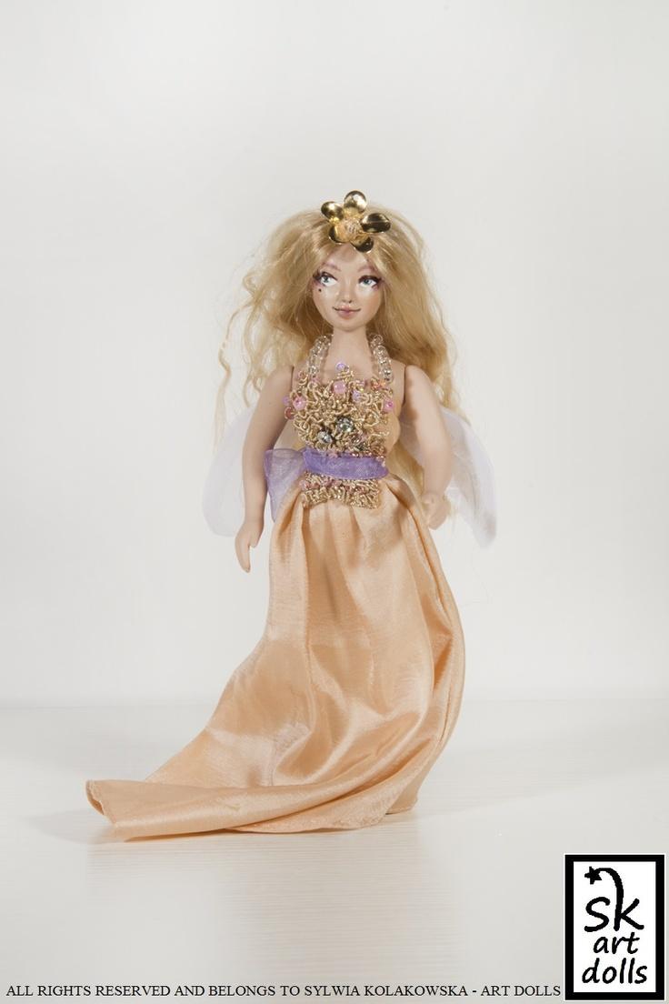 Spring Fairy - an original art porcelain doll by sinestro (SK ART DOLLS).