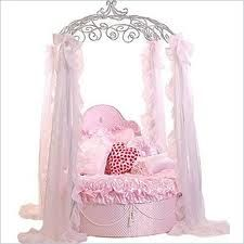 For our dog Sadie, a princess bed along with her dog room, which will have a doggy door.