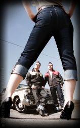 Rumble59 Denim - Ladies Capri Jeans