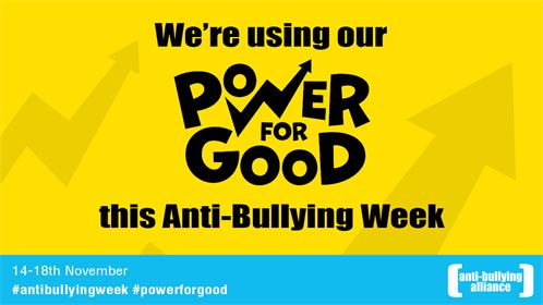 Pumpic is proud to join the Anti-Bullying Week by Anti-Bullying Alliance on November 14th-18th, 2016.