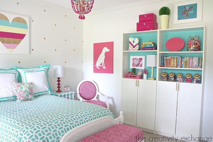 25 best ideas about cute girls bedrooms on pinterest girls chair organize girls bedrooms and - Girly bedroom decorating ideas ...