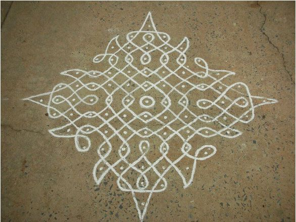 kolam with 8 dots - Google Search