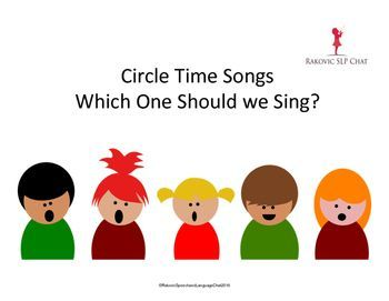 New and improved 2016 This is a song card that can be used during circle time to help children make a song selection.  It has a base and then a wide selection of songs that can be interchanged.