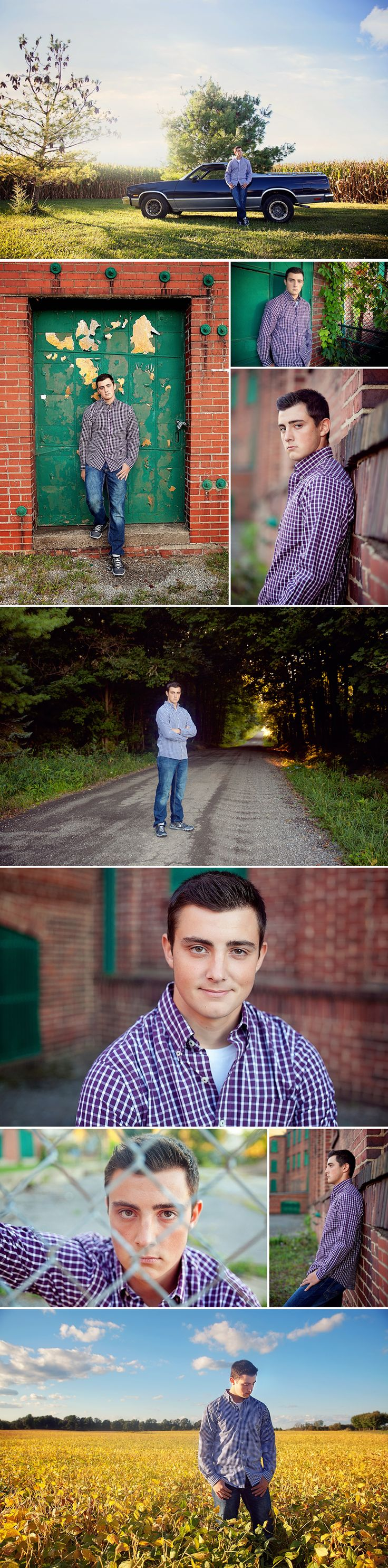 Northeast Ohio High School Senior Boy Photography - The Picture Show