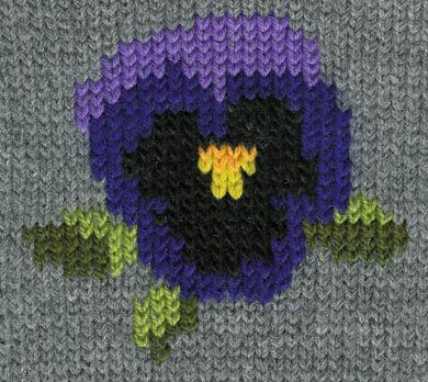 How to convert simple cross stitch patterns into Duplicate Stitch patterns for your knits.