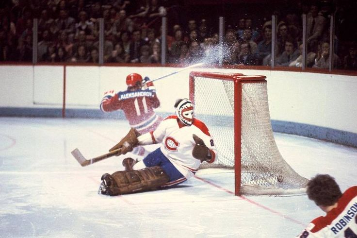Montreal Canadiens vs. Central Red Army team, New Year's Eve, 1975. Ended in a 3-3 tie in a memorable, historic and dramatic game between two elite teams during the cold war era.