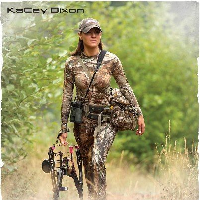 """There are so many people out there who will tell you that you can't....What you've got to do is turn around and say ""WATCH ME"".  ~ KaCey -  Marathon Runner &  Miss Huntress 2011. #bowhunting"