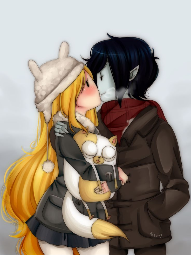 Cold Days by Mizz-chama. I don't really watch Adventure Time anymore but this is really cute