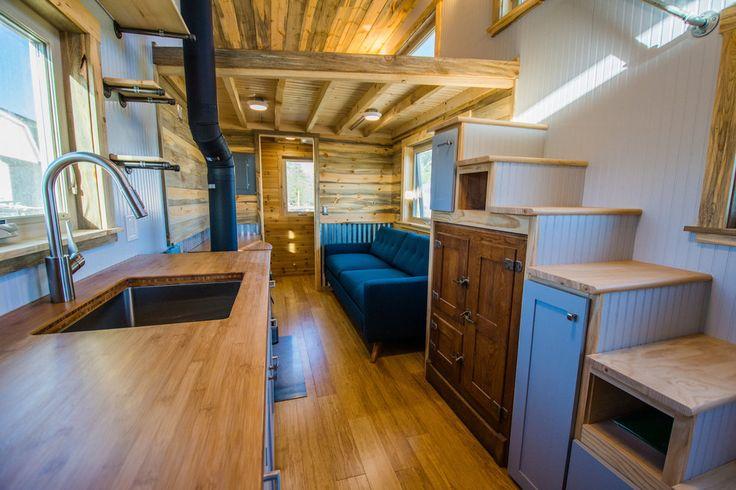 Mais de 1000 ideias sobre tiny house interiors no for 24 ft tiny house