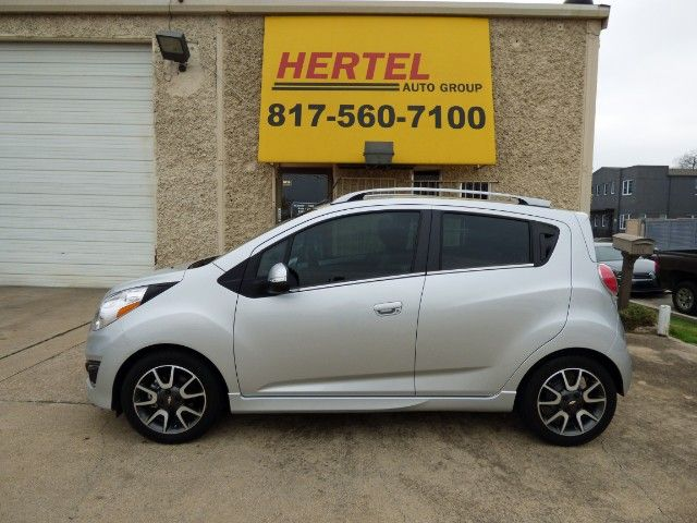 NEW SPARKY! Nothing Old About this Super-Cute & Fuel Efficient 2014 #Chevrolet #Spark 2LT #Hatchback with Auto; Heated Seats; Bluetooth; Just 14K Miles & a Clean CARFAX for Only $8,990! -- http://hertelautogroup.com/2014-Chevrolet-Spark/Used-Hatchback/FortWorth-TX/10677612/Details.aspx  #chevroletspark #fordfiesta #kiario #cutecar #funcar #firstcar #carshopping #usedcar