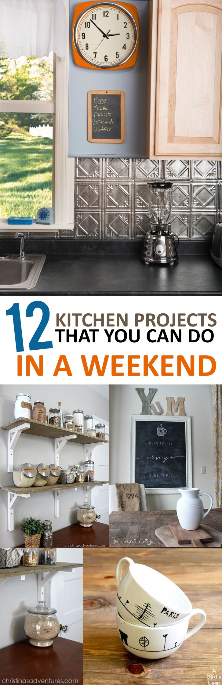 Kitchen projects, DIY kitchen, kitchen remodel, kitchen upgrades, popular pin, easy kitchen, DIY home decor, kitchen organization, DIY organization, DIY kitchen.