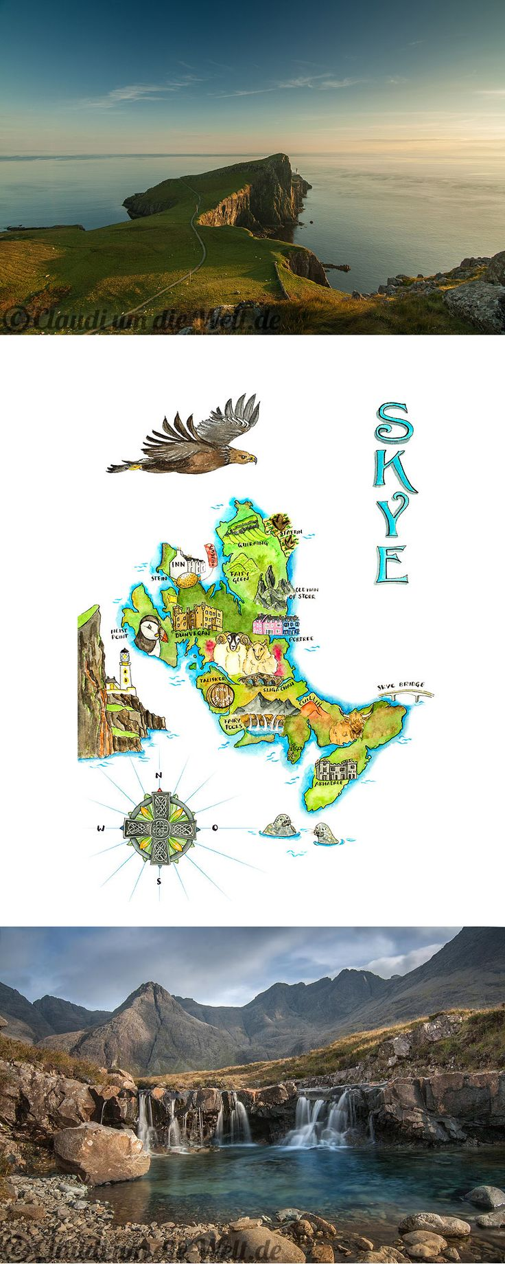 The Isle of #Skye in Scotland - best explored with a map ;)