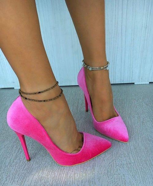 Pantofi Lorent Roz