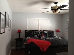 resultado de imagen para black grey red bedroom - Grey Red Bedroom Ideas