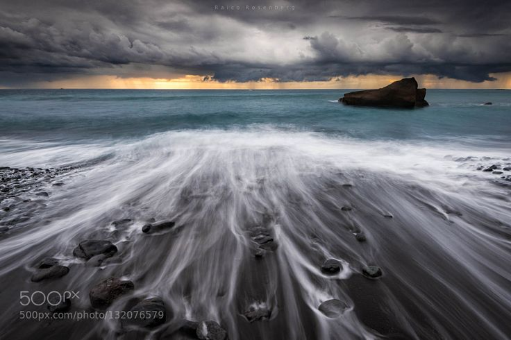 Not iceland Tenerife! #RaicoRosenberg - Tenerife south coast. it looks like Jökulsárlón beach in iceland with some ice missing! Shot with Lucroit filter holder and Hitech filters. Taken during the last storm we had mid October 2015.   Costa sur de Tenerife.. parece la playa de Jökulsárlón in Islandia. Solo le faltan los miticos bloques de hielo! Sacado con porta Lucroit y filtros Hitech.