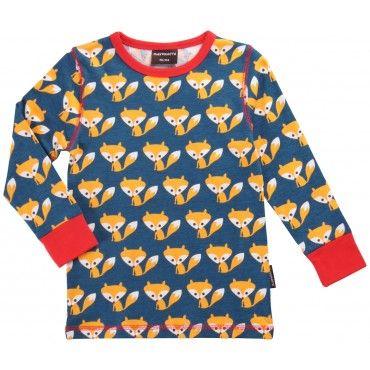 Maxomorra Foxes Long Sleeved T-Shirt