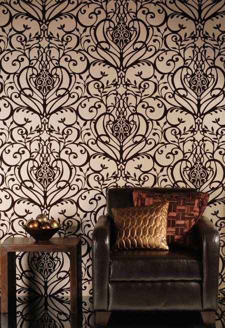 the wallpaper / from Flock Wallpaper Company