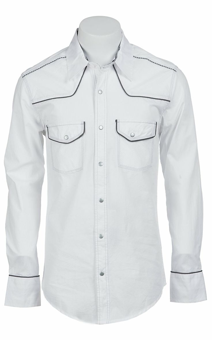 31 best guy style images on pinterest man style boys for Mens shirts with snaps instead of buttons