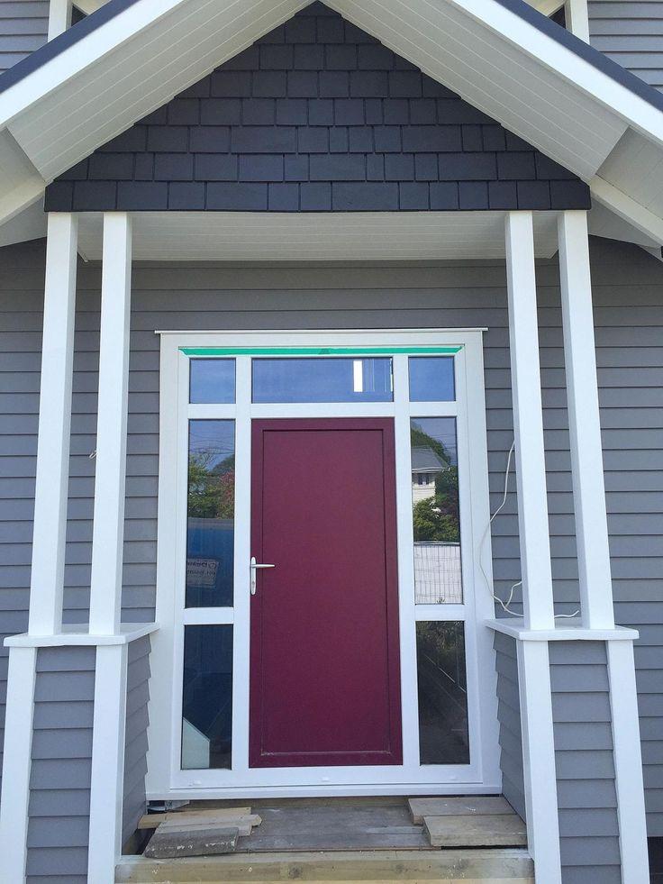 Violet Panel Door uPVC
