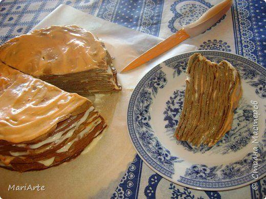"""Готовим """" Печёночный торт"""" М.К."""