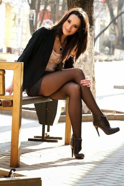 For Sexy legs black stockings this remarkable