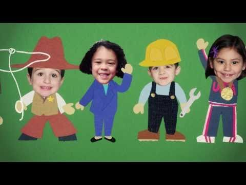 """Career Day"" by The Bazillions  - get the kids excited about different jobs recommended by Charlotte's Clips http://pinterest.com/kindkids/"