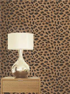 Stunning GOLD Leopard Print Bedroom/Lounge Wallpaper