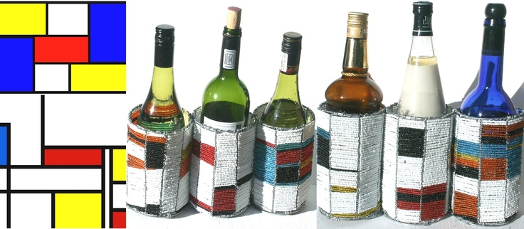 Stribal's Product of the Day is from our range of Wire Beaded Wine and Bottle holder stands which are inspired by Piet Mondrian. This range is created by Stribal Artist extraordinaire Benson Maposa.         'Art is not made for anybody and is, at the same time, for everybody.' Piet Mondrian     for more of Benson's work please see herehttp://www.stribal.com/benson-maposa.html