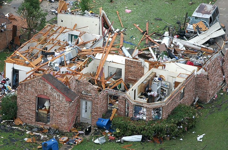 Heartbreaking. Tornado, Dallas, TX. April 3, 2012