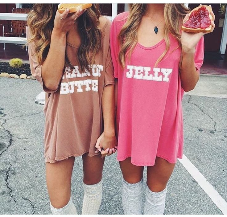 Image of Peanut butter & Jelly matching shirts