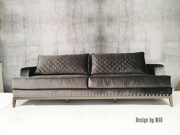 Sofa ALQUIMIA diseñado para STUDIO NOA/ SOFA ALQUIMIA design by MAO for STUDIO NOA