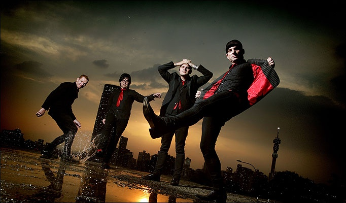 my new favourite band - The Parlotones