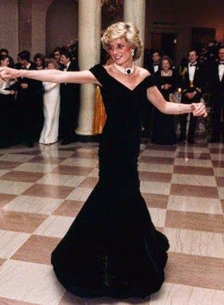 Diana, Princess of Wales, in Victor Edelstein (1985)