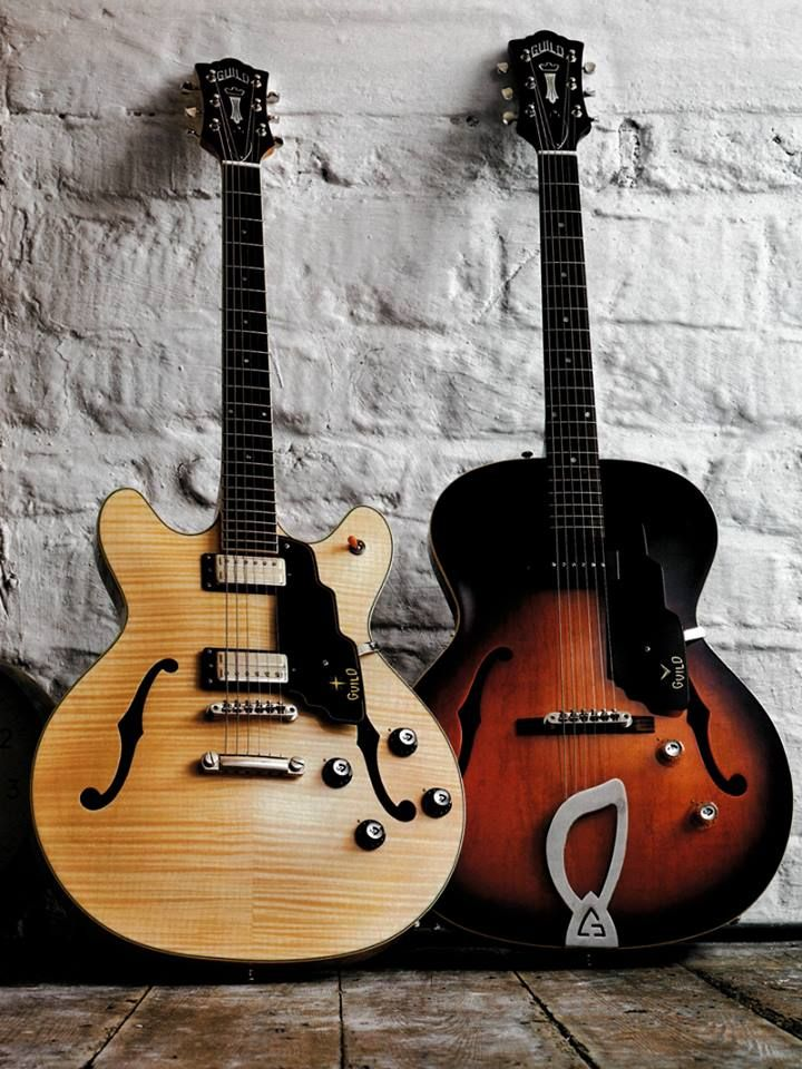 Guild Guitars T-50 Slim and the Starfire IV ST