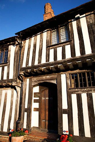 Half Timbered Building, Lavenham, Suffolk, England, UK