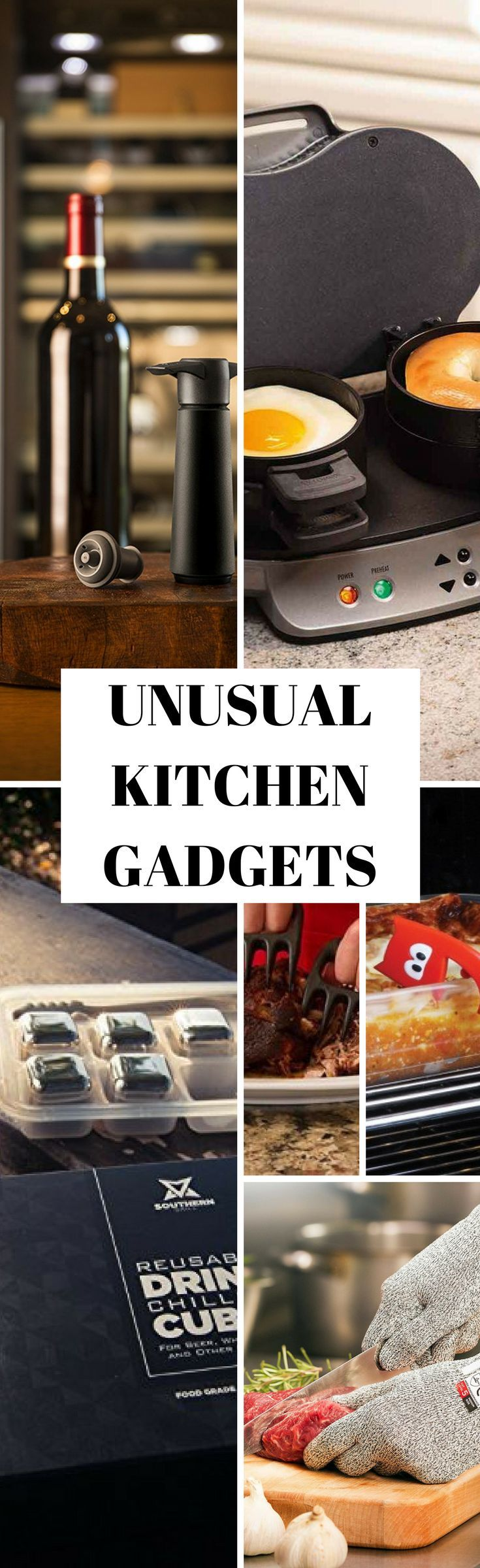 A selection of the best #kitchen #gadgets on the Internet.  Come check them out then PIN this to share the love!  #kitchenideas #gadgetsandgizmosvbs #cooking #cookingtips #tools #kitchenorganization #diet #food #wine #breakfast #dinner #technology #tech #safety #chef