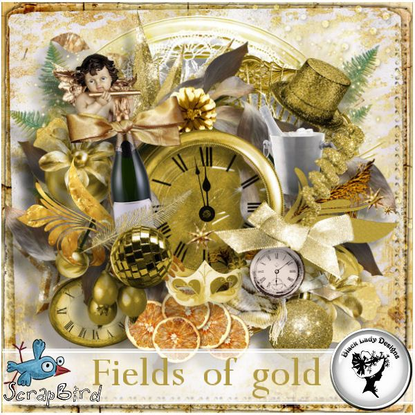 Fields of gold by Black Lady Designs