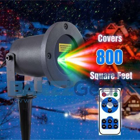 Magic Prime Star Projector Wireless Waterproof Laser Light