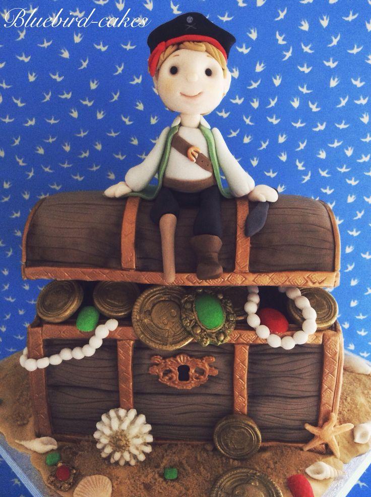Treasure Chest Cake Ideas