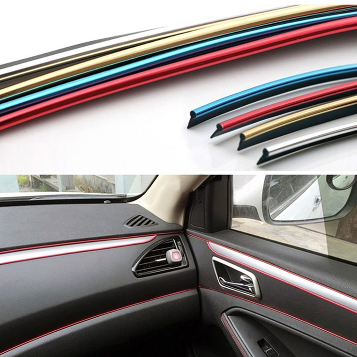 73 best car accessories images on pinterest cars auto accessories buy now 4 xmas n ny 5m car interior decorative thread stickers decals chrome styling fandeluxe Image collections